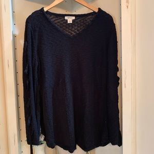 Style & Co sweater knit top, size XXL